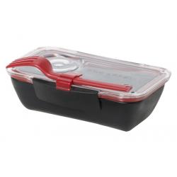 Pojemnik BENTO BOX czarno-czerwony - BLACK+BLUM