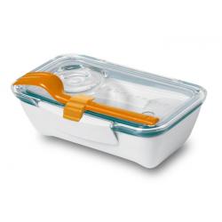 Pojemnik Bento Box, pomarańczowo-niebieski - BLACK+BLUM