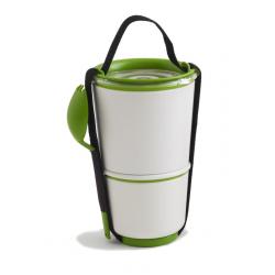 Pojemnik LUNCH POT, biało-zielony - BLACK+BLUM