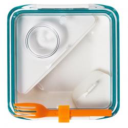 Lunch box BOX APPETIT biało-niebieski - BLACK+BLUM