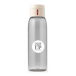 Butelka na wodę DOT koło NGU kremowa - HPBA