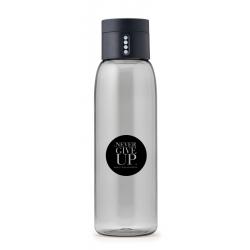 Butelka na wodę DOT koło NGU szara - HPBA