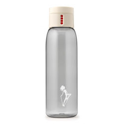 Butelka na wodę DOT AL mini kremowa - HPBA
