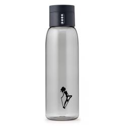 Butelka na wodę DOT AL mini szara - HPBA