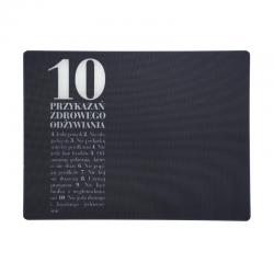 Deska - podkładka szklana 10 przykazań - HPBA