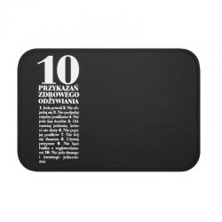 Podkładka stołowa 10 Przykazań, czarna - HPBA