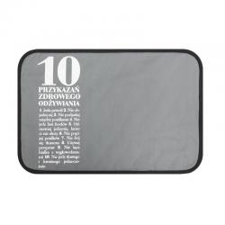 Podkładka stołowa 10 Przykazań, szara - HPBA