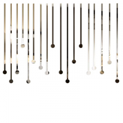 Lustro dekoracyjne ICICLES plexi - DekoSign