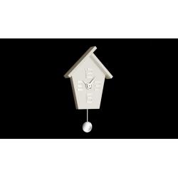 Zegar ścienny Aicon Pendolo 099 MB (Biały) - Incantesimo Design