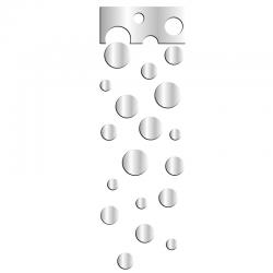 Lustro dekoracyjne WHEELS SET plexi - DekoSign