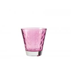 Szklaneczka 220 ml OPTIC, fioletowa - Loenardo