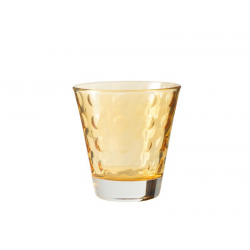 Szklaneczka 220 ml OPTIC, żółta - Leonardo