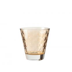 Szklaneczka 220 ml OPTIC, brązowa - Leonardo