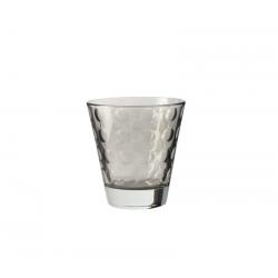 Szklaneczka 220 ml OPTIC, szara - Leonardo
