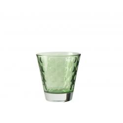 Szklaneczka 220 ml OPTIC, zielona - Leonardo