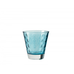 Szklaneczka 220 ml OPTIC, niebieska - Leonardo