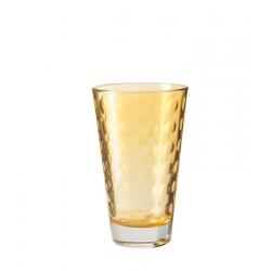 Szklanka 300 ml OPTIC, żółta - Leonardo