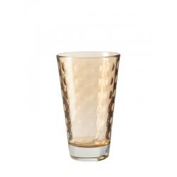Szklanka 300 ml OPTIC, brązowa- Leonardo