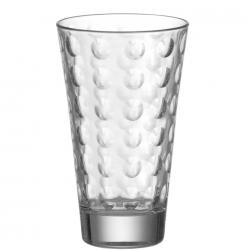 Szklanka wysoka 300 ml OPTIC, bezbarwna - Leonardo