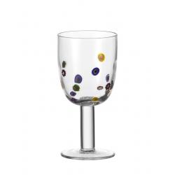 Kieliszek do czerwonego wina 380 ml, Millefiori - Leonardo