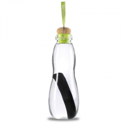 Butelka na wodę EAU GOOD w pokrowcu, seledynowa  - BLACK+BLUM