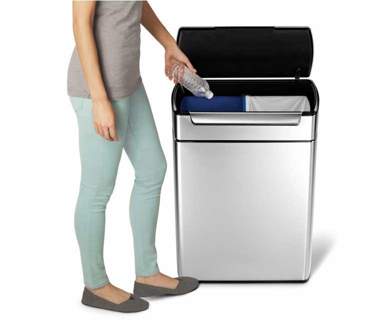 Bądź Eko Segregowanie Odpadów Eleganckie Kosze Na śmieci